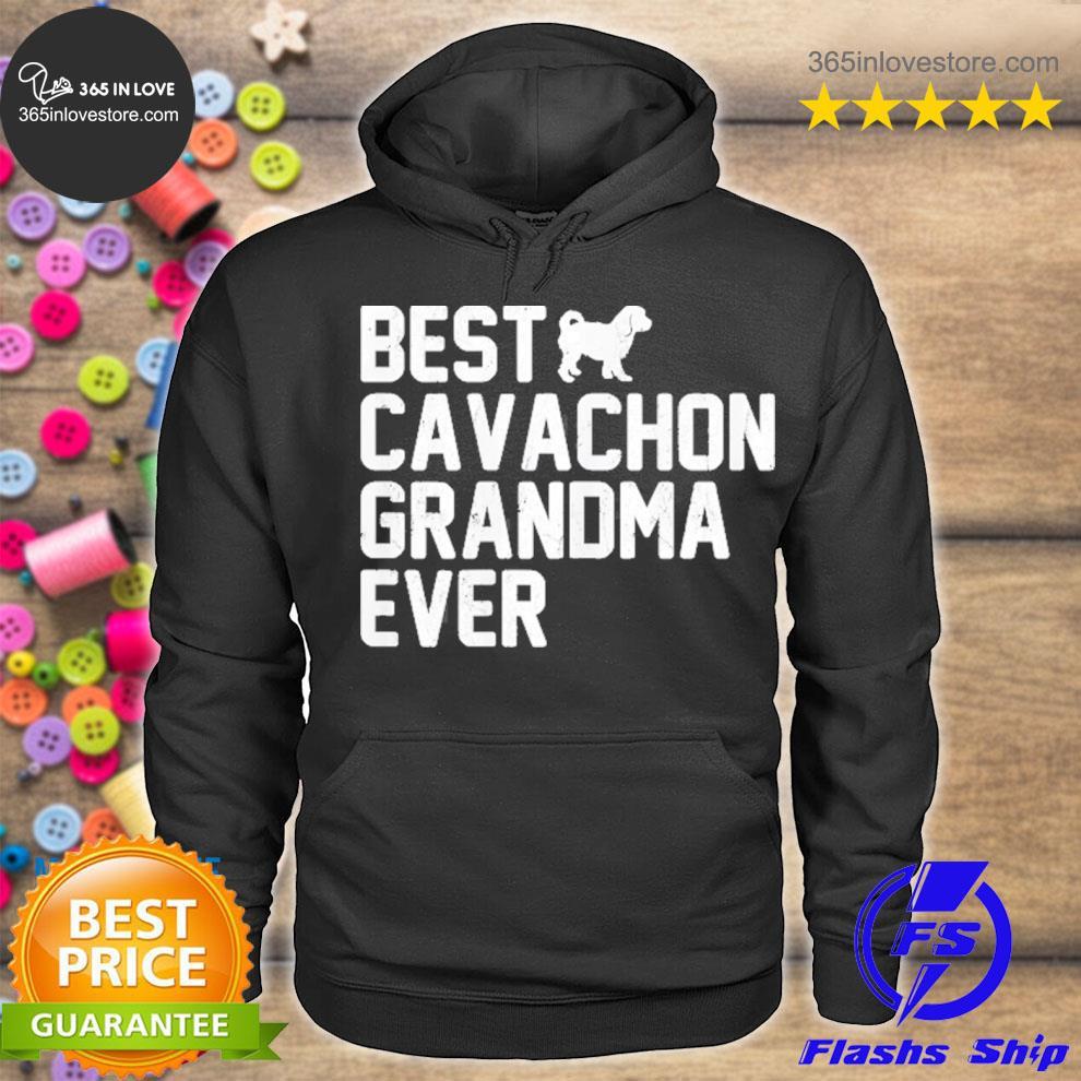 Best grandma cavachon ever vintage s hoodie tee