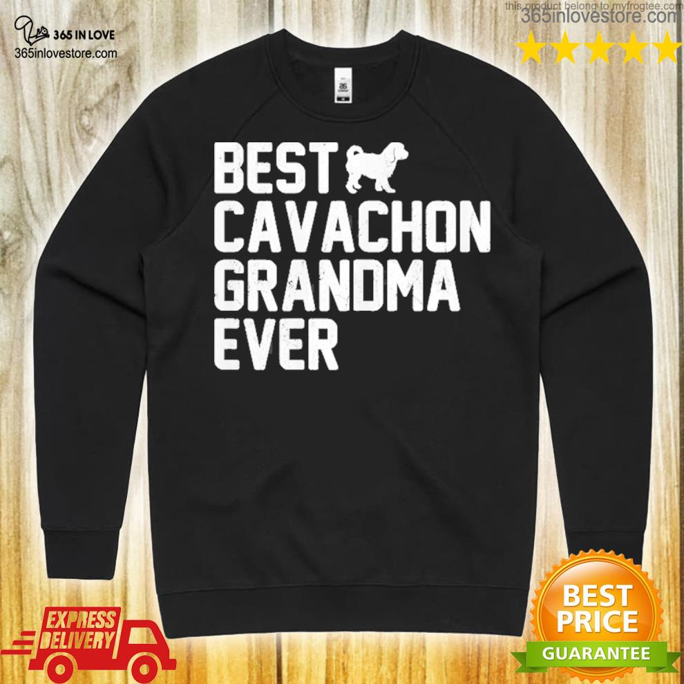 Best grandma cavachon ever vintage s sweater