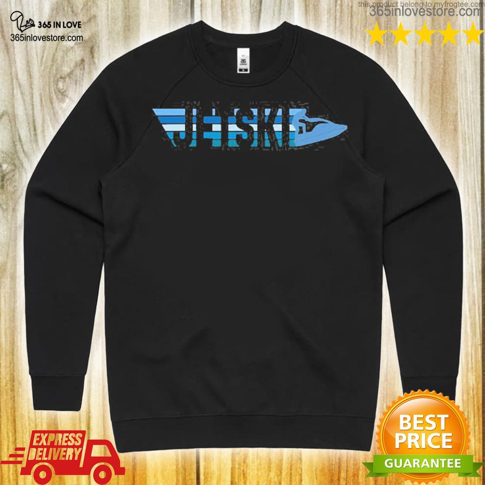 JetskI rider jet skI vintage s sweater