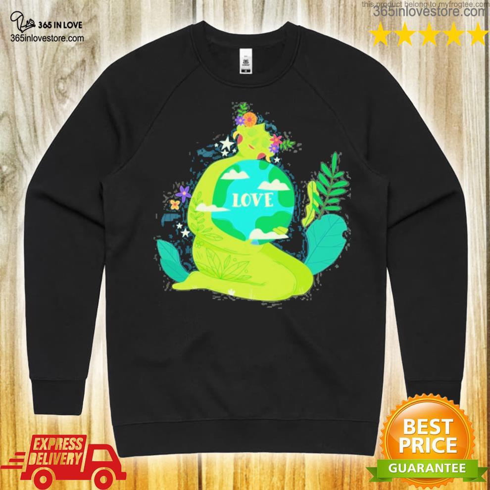 Green Peace Shirt Conservation Shirts Environmental Shirt Nature Mother Shirt Grow Positive Thoughts Nature Lover Shirt