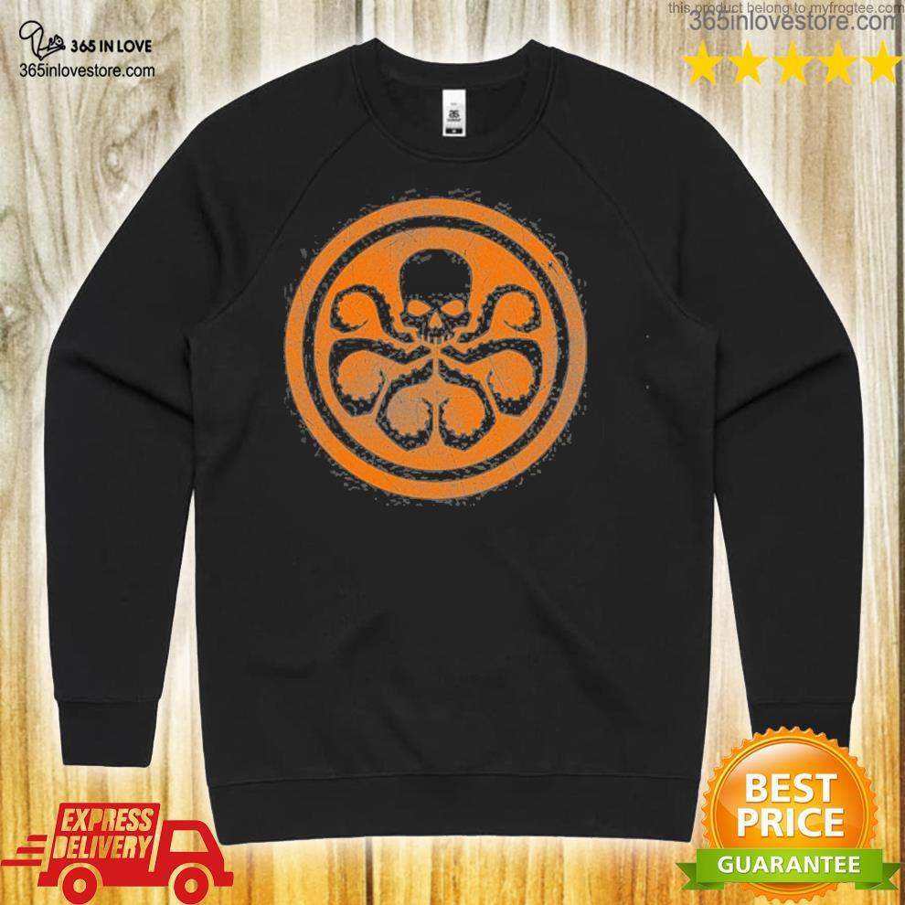 Marvel Hydra Logo Women/'s T-Shirt Black
