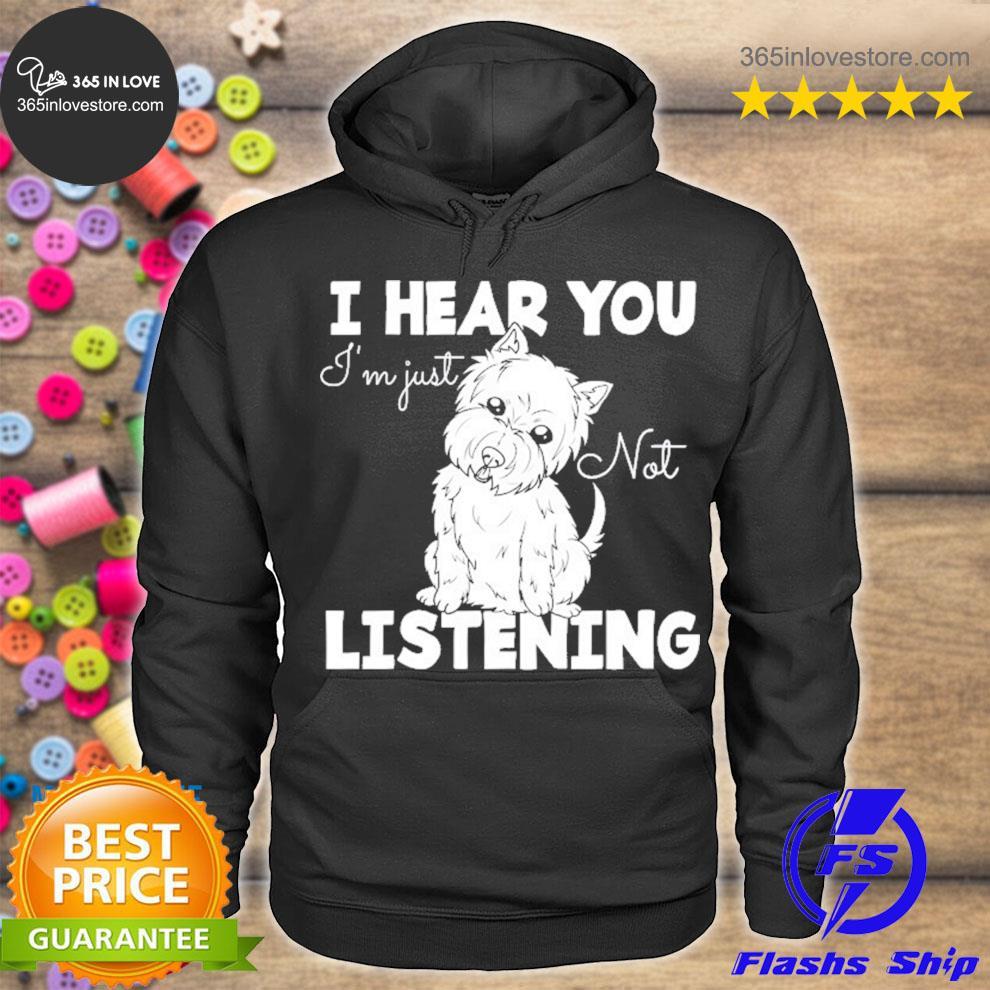 West highland Terrier gift westie dog s hoodie tee
