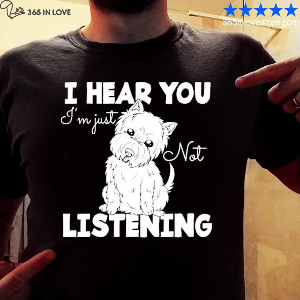 West highland Terrier gift westie dog shirt