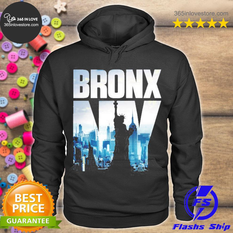 Bronx nyc skyline new york city skyline s hoodie tee