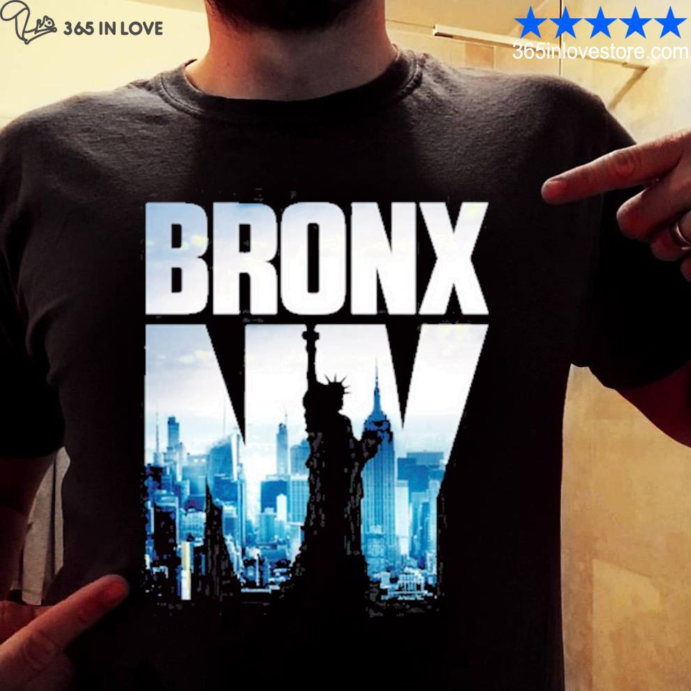 Bronx nyc skyline new york city skyline shirt