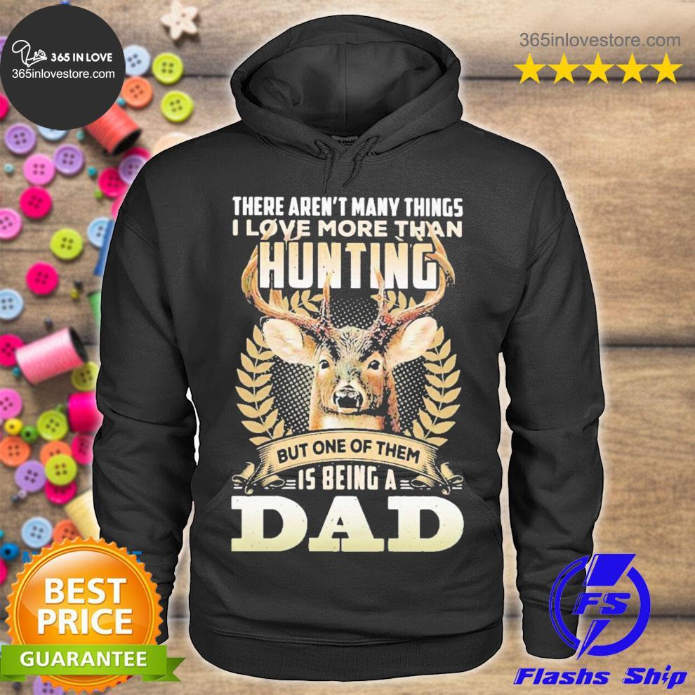 Deer dad hunting little reindeer s hoodie tee