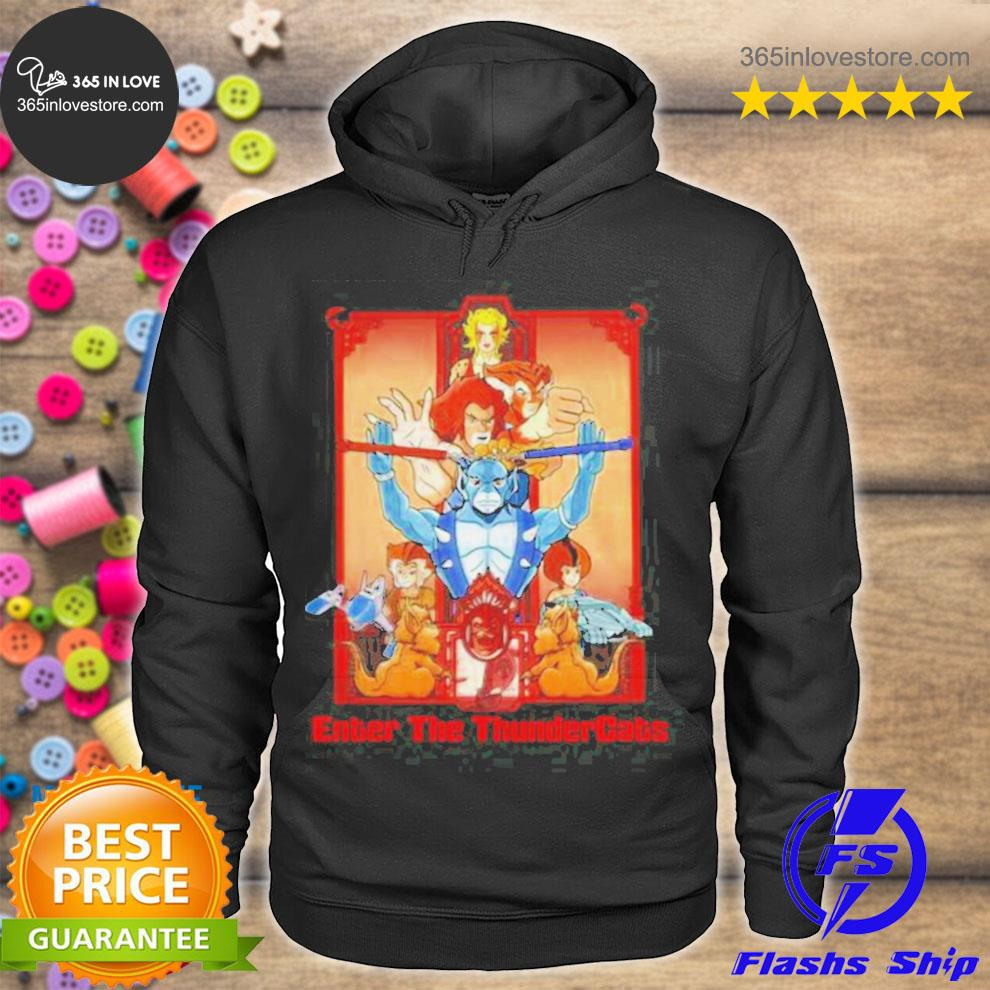 Enter the thundercats TV shows s hoodie tee