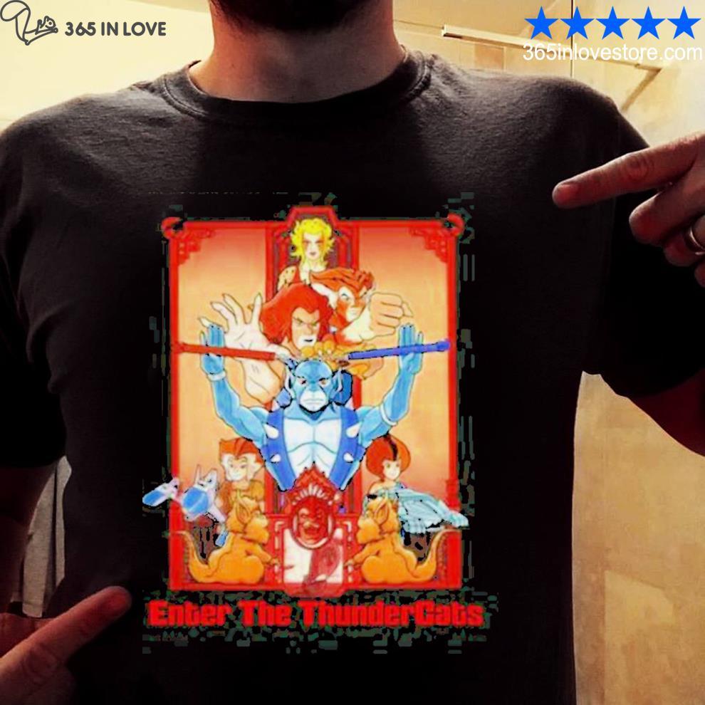 Enter the thundercats TV shows shirt