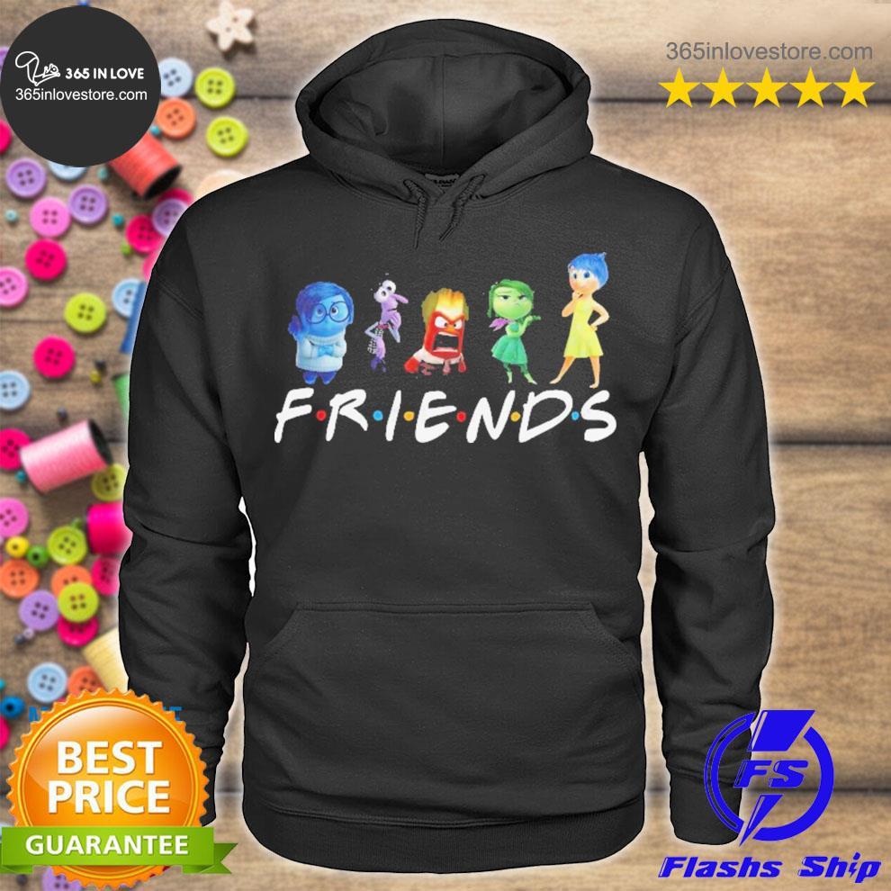 Inside out friends disney s hoodie tee