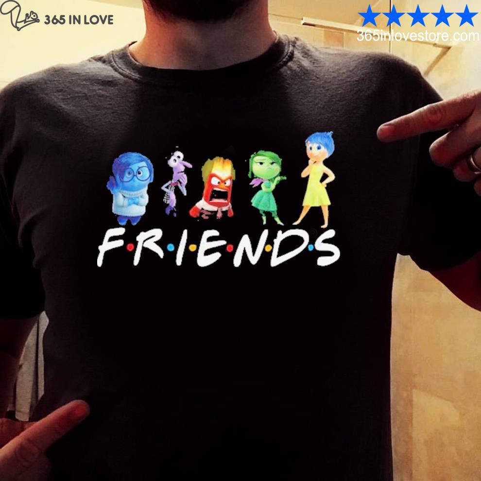 Inside out friends disney shirt
