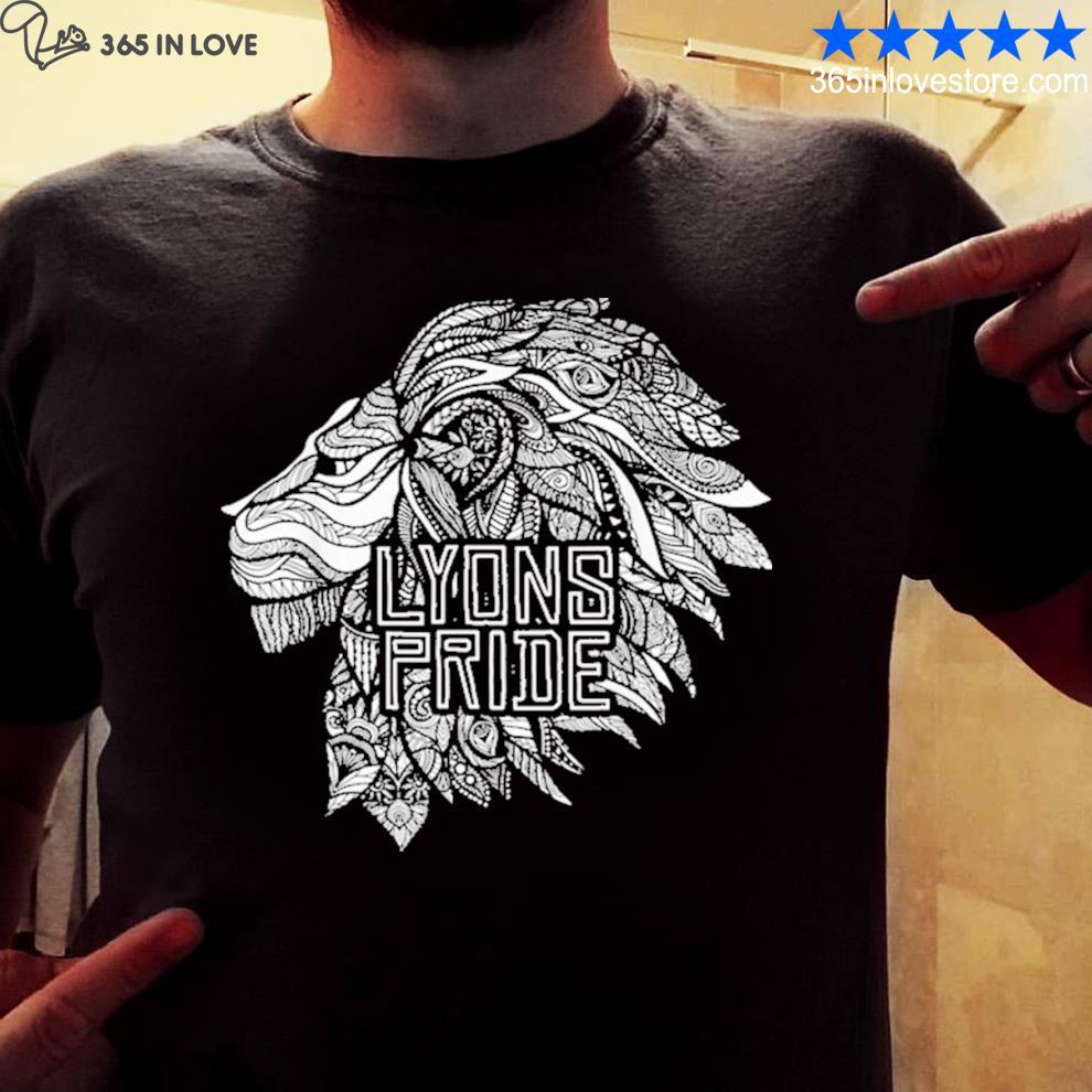Lyons pride q2 new 2021 s mens shirt