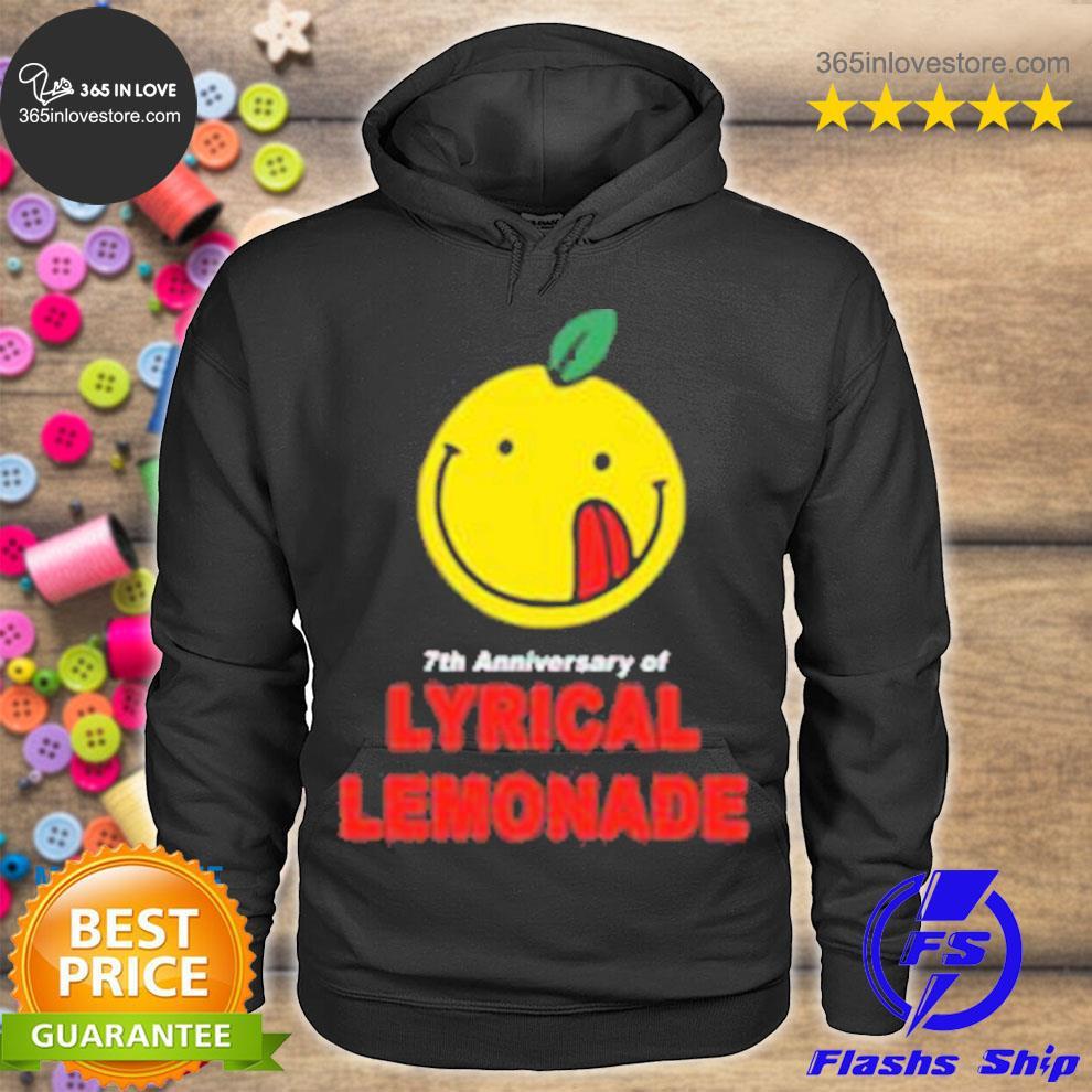 Lyrical Lemonade Merch The 7th Anniversary Tee hoodie tee