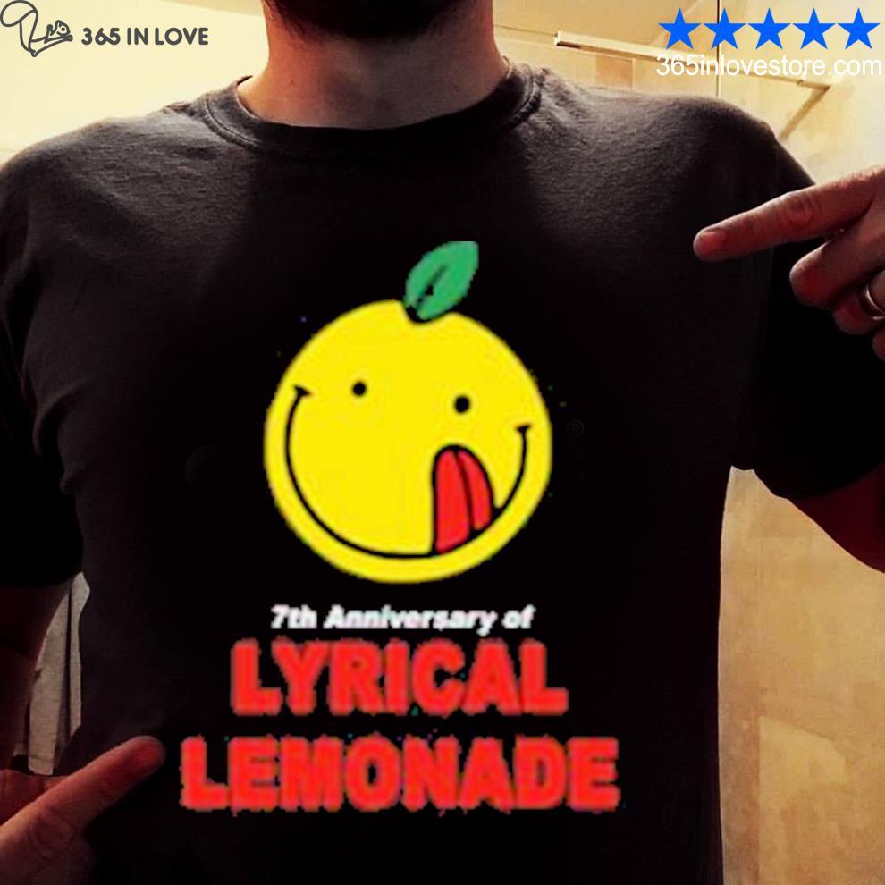 Lyrical Lemonade Merch The 7th Anniversary Tee
