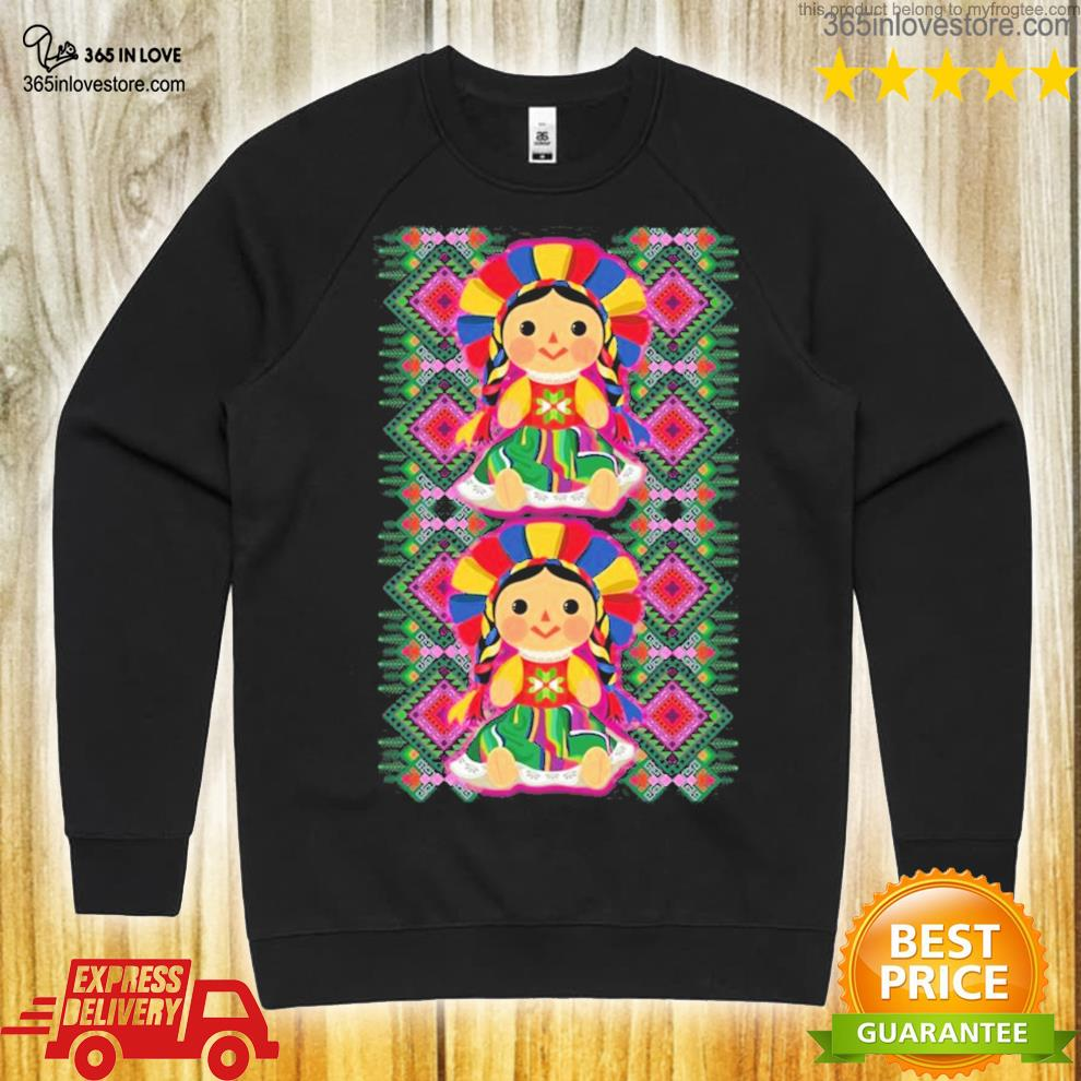 Mexican doll maria mazahua lele tenangos Mexico NEW 2021 shirt