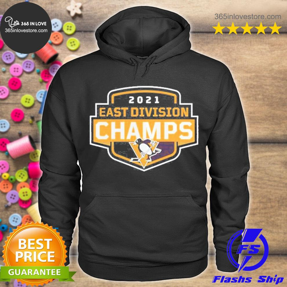 Pittsburgh penguins 2021 east Division champions s hoodie tee