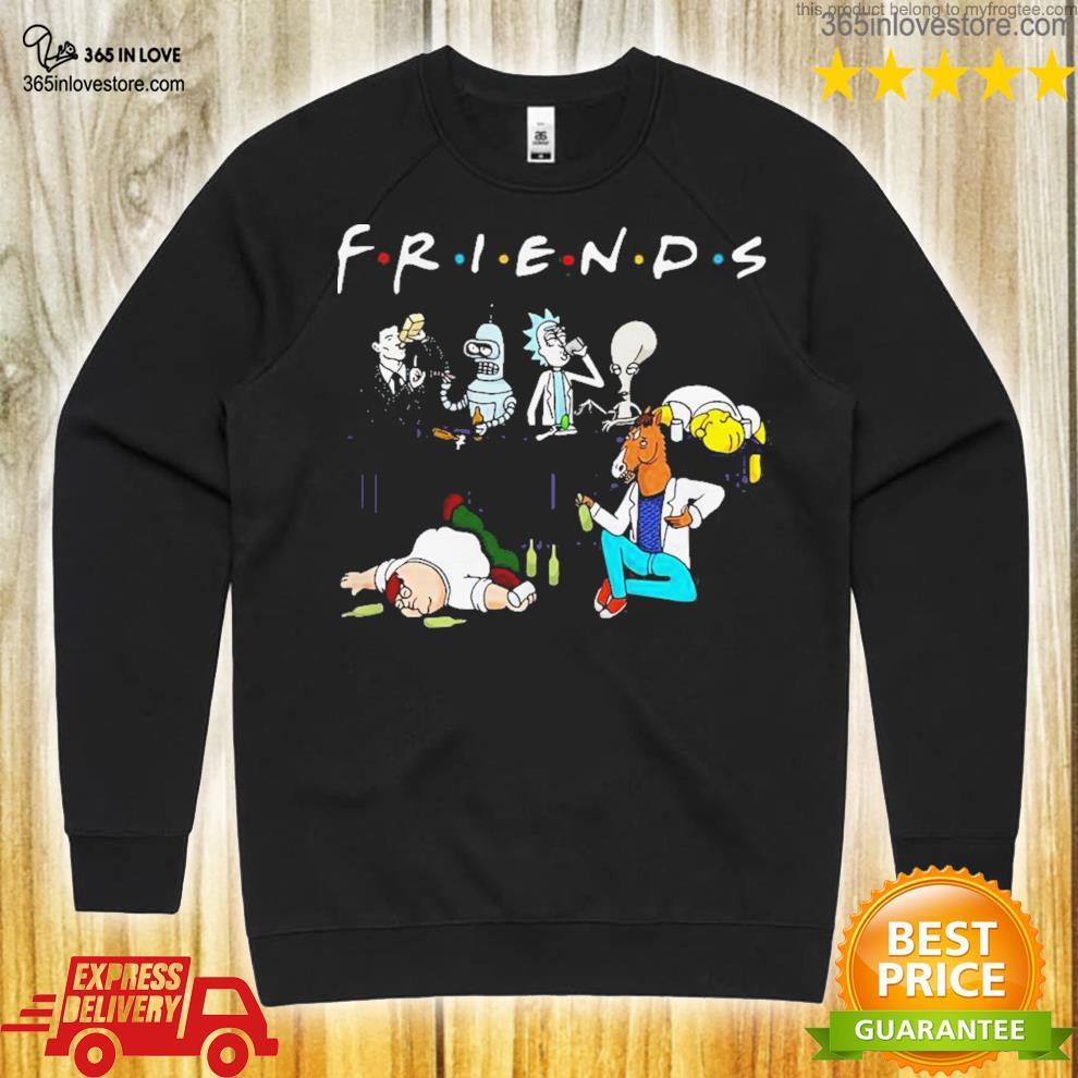 Roger American dad bender homer simpson rick boJack horseman sterling archer peter griffin friends shirt