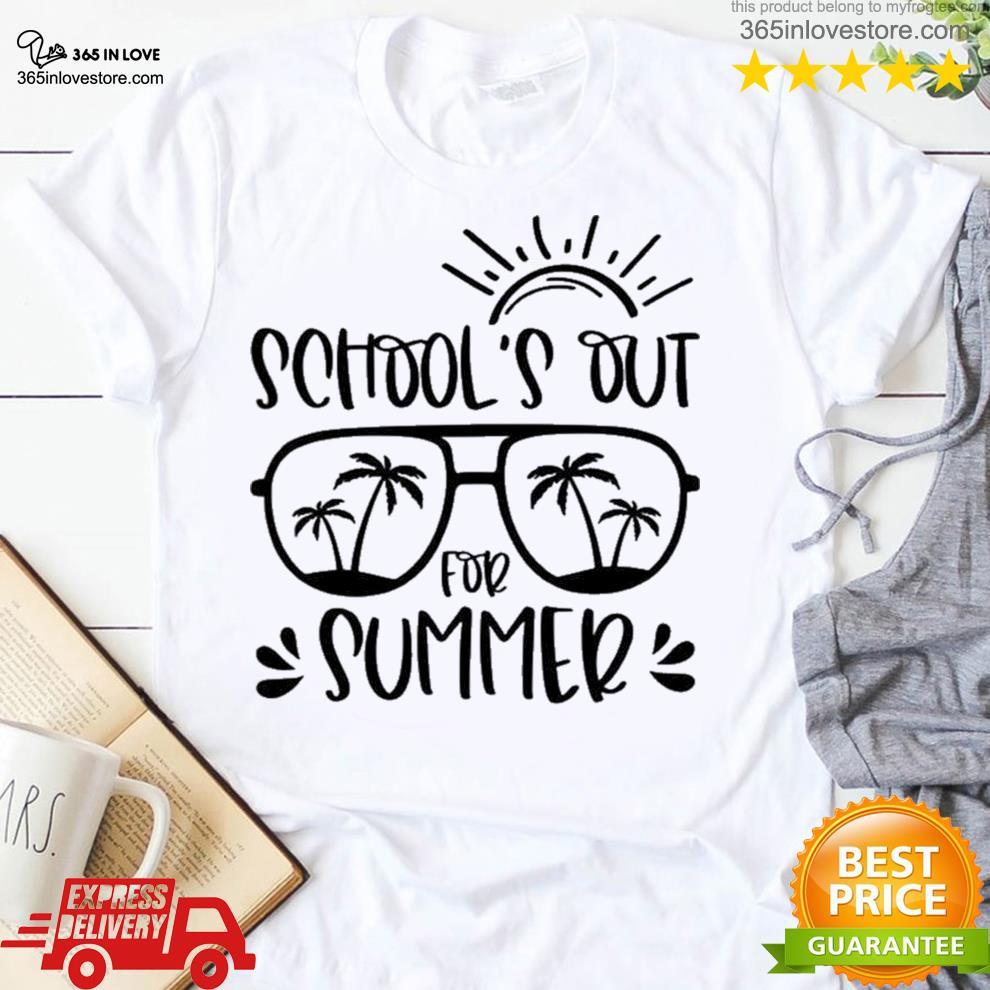 School's out for summer teacher last day of school teacher off duty s women tee shirt