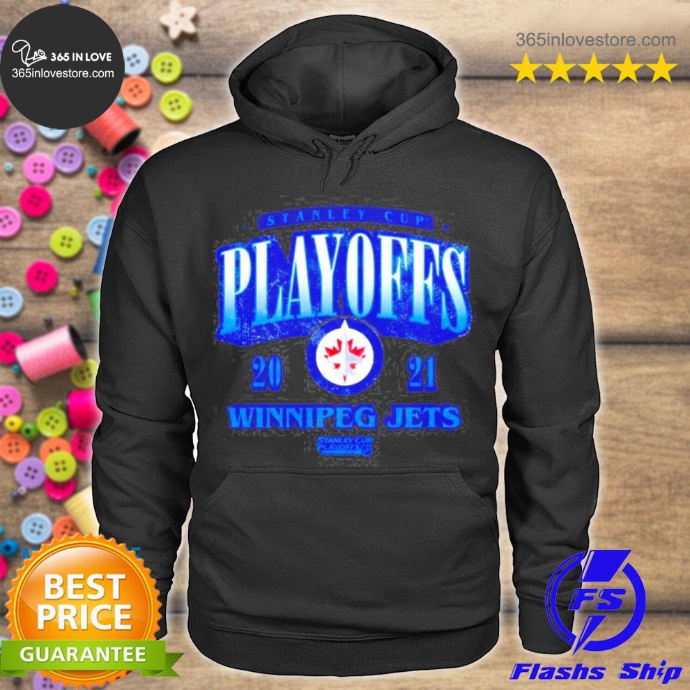 Stanley cup playoffs winnipeg jets s hoodie tee