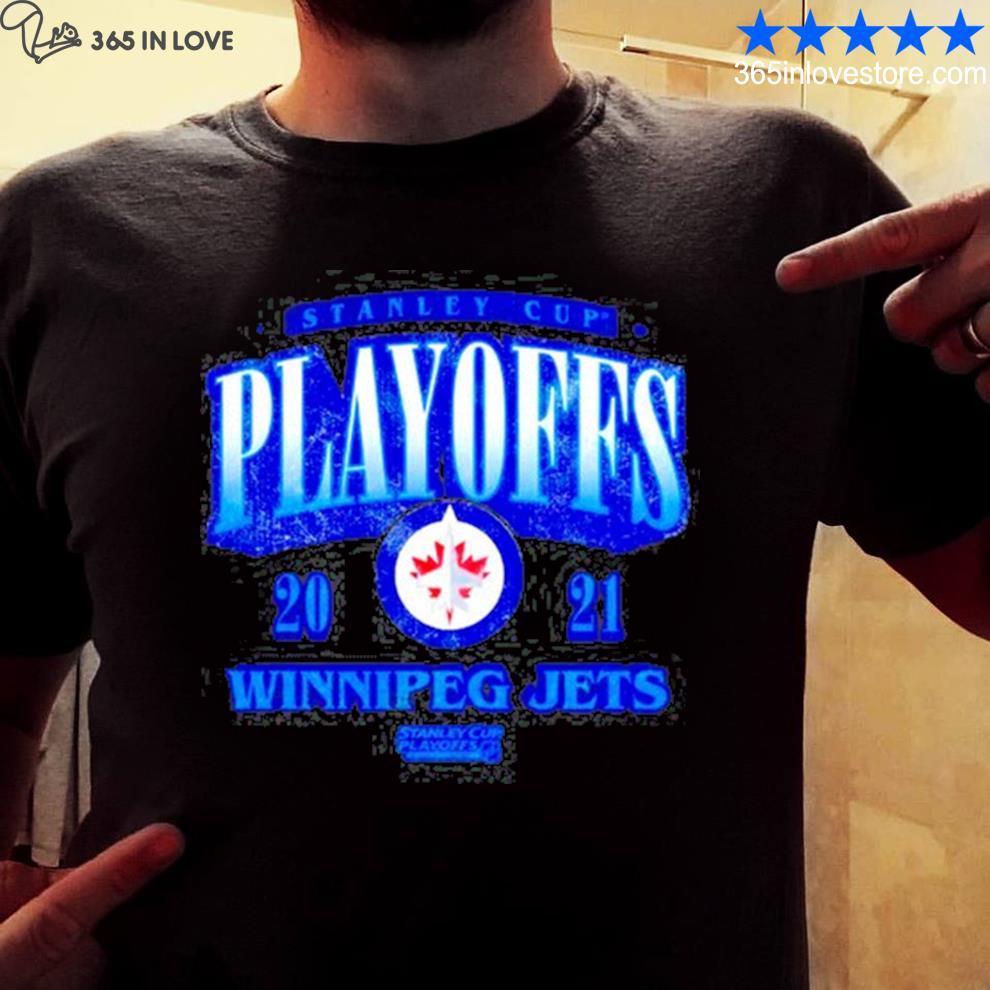 Stanley cup playoffs winnipeg jets shirt