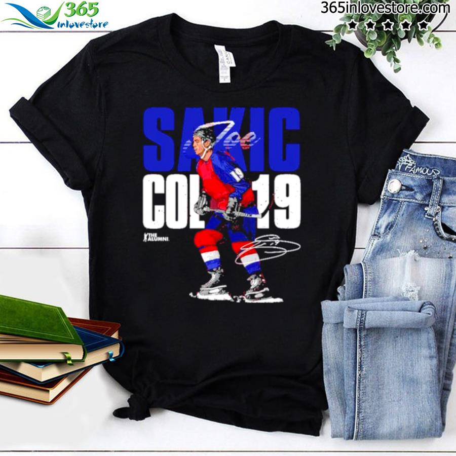 Joe sakic Colorado bold signature shirt