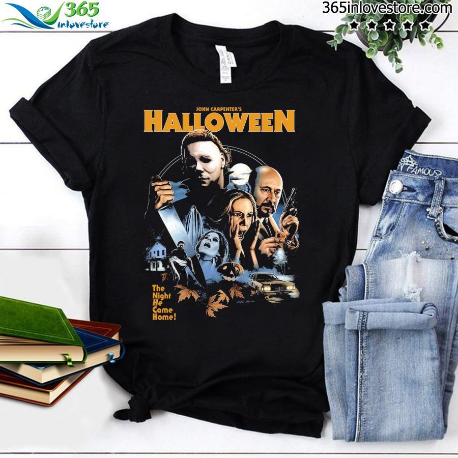 John Carpenter's Halloween The Night He Came Home Shirt