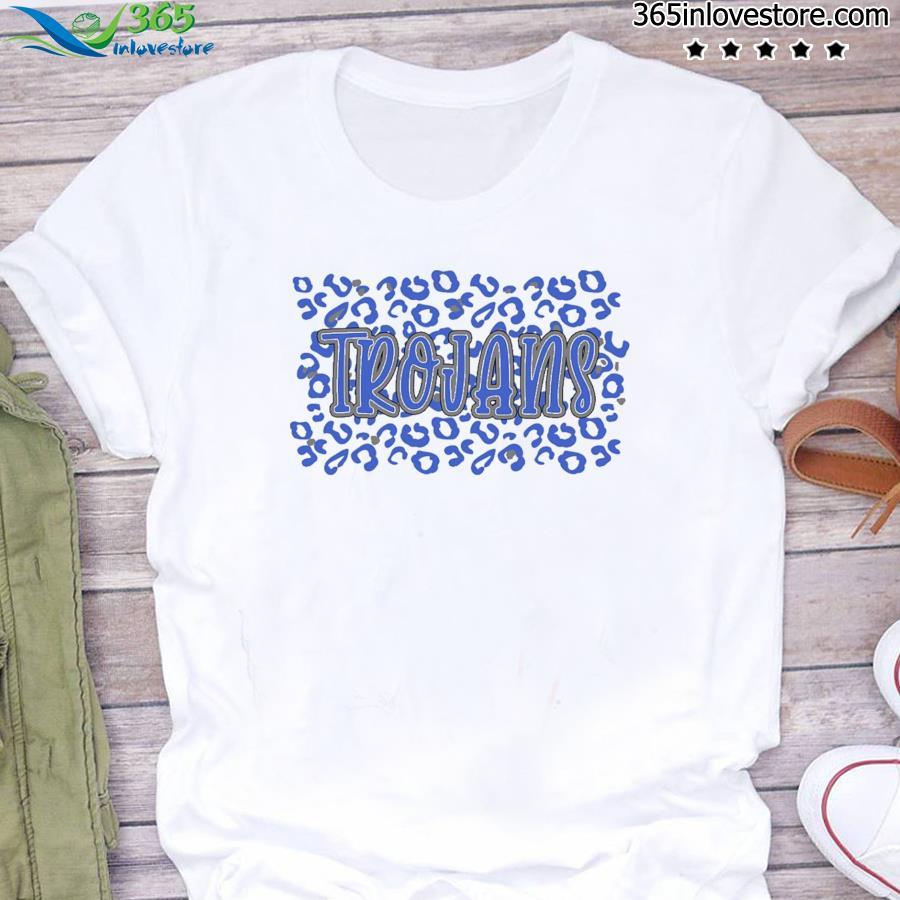 Leopard School Spirit Mascot - Trojans Shirt