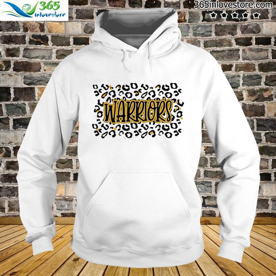 Leopard School Spirit Mascot - Warriors Shirt hoodie