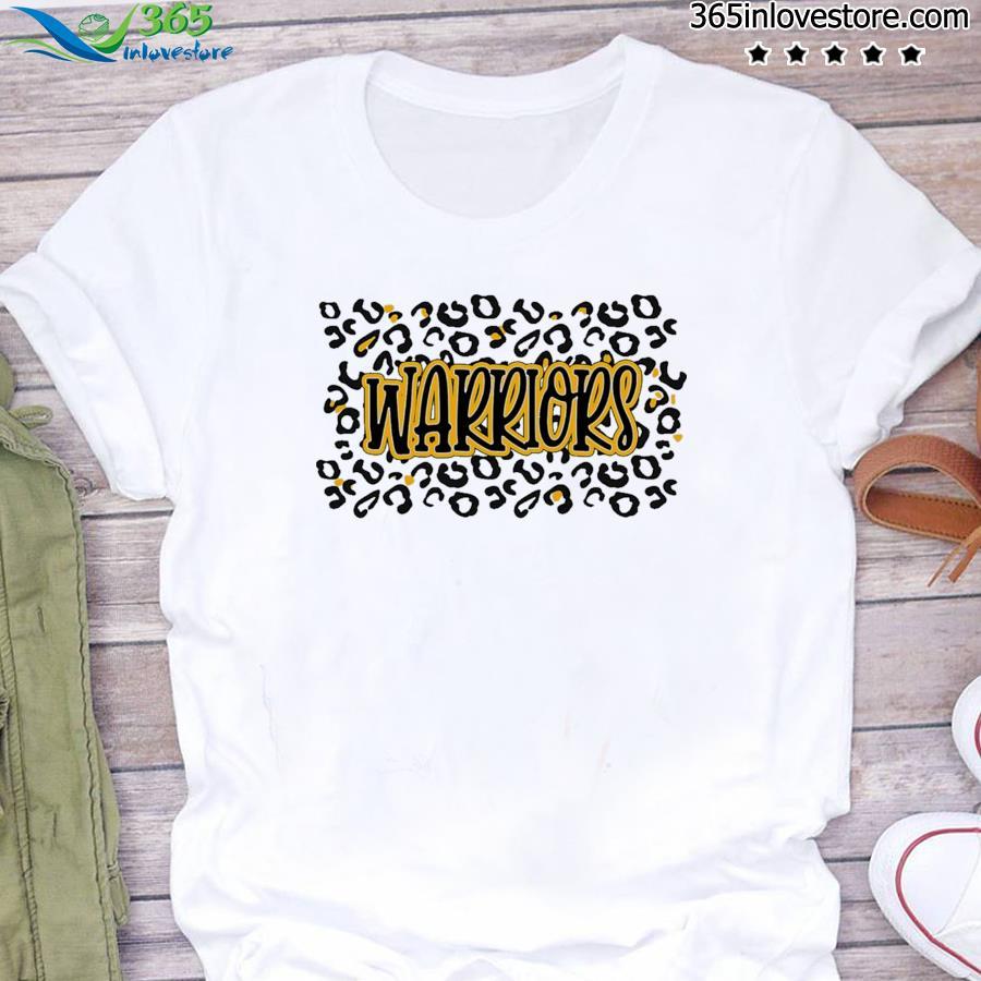 Leopard School Spirit Mascot - Warriors Shirt