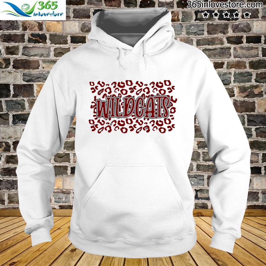 Leopard School Spirit Mascot - Wildcats Shirt hoodie