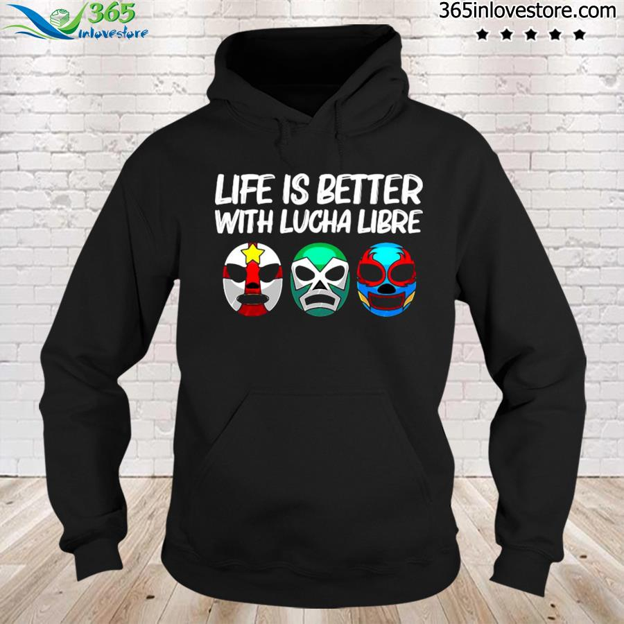 Lucha libre gift for men women mexican wrestling mask s hoodie