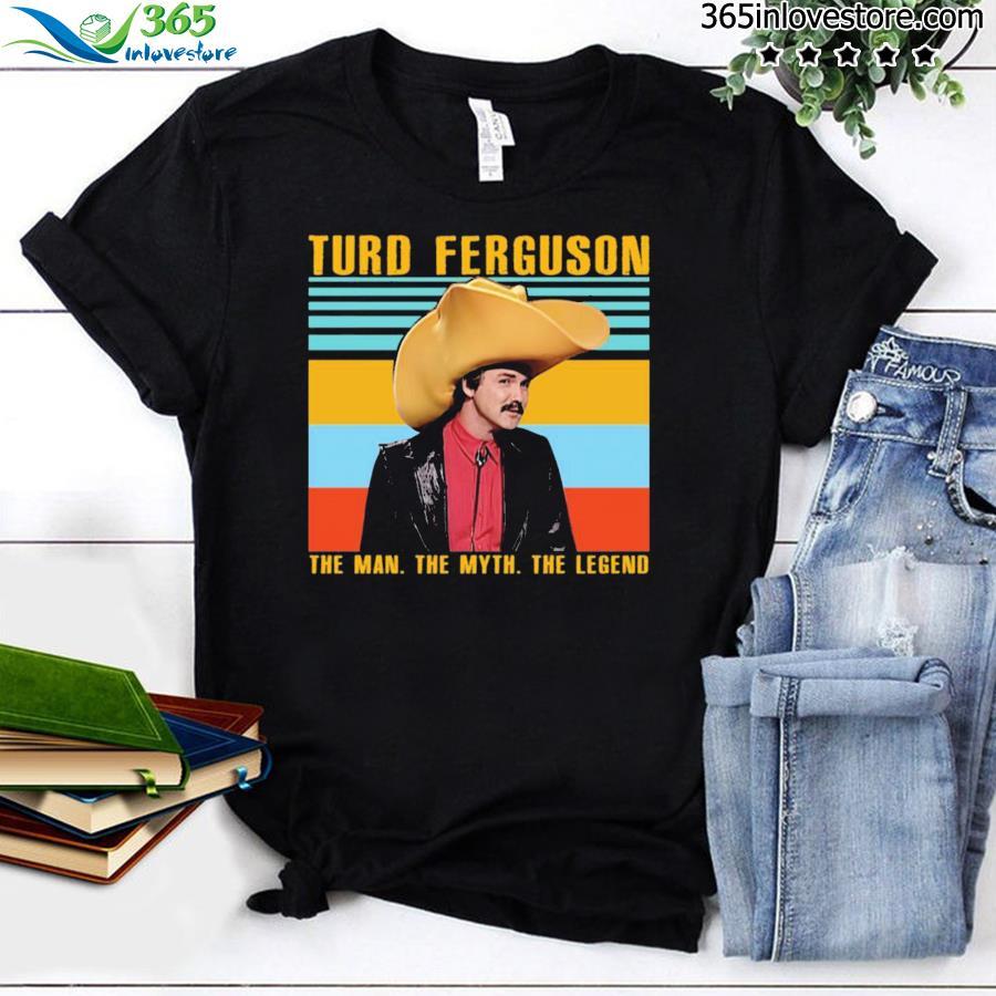 Norm Macdonald turd Ferguson The Man the Myth The Legend Vintage Shirt