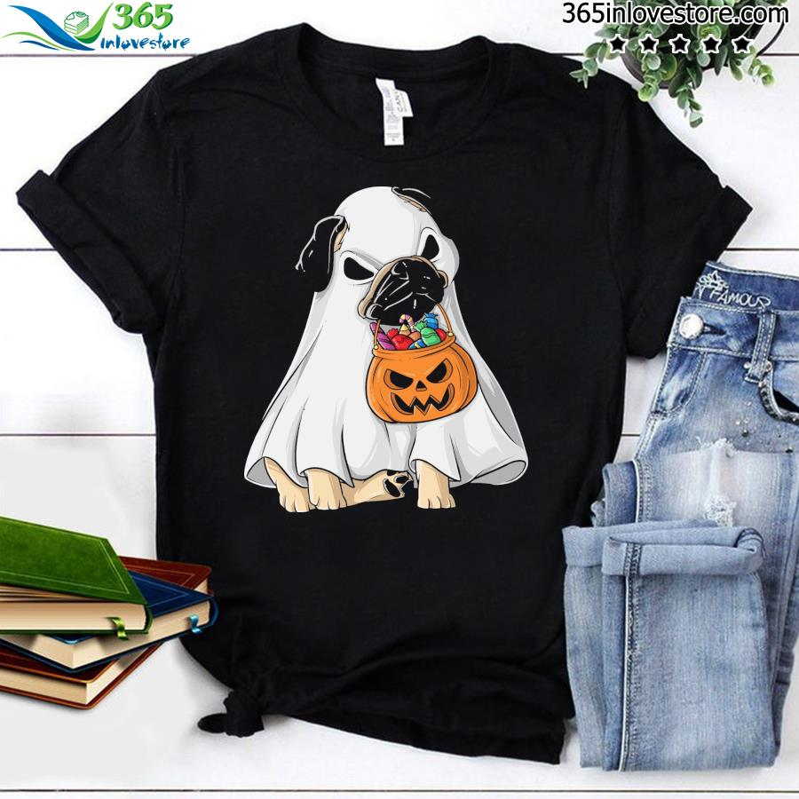 Pug Boo Sheet and Pumpkin shirt