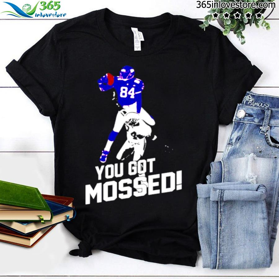 Randy moss over charles woodson you got mossed shirt