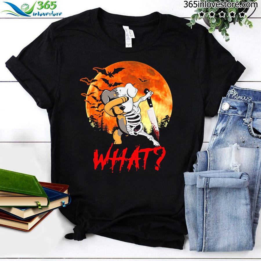 Rottweiler Dabbing Halloween What Shirt