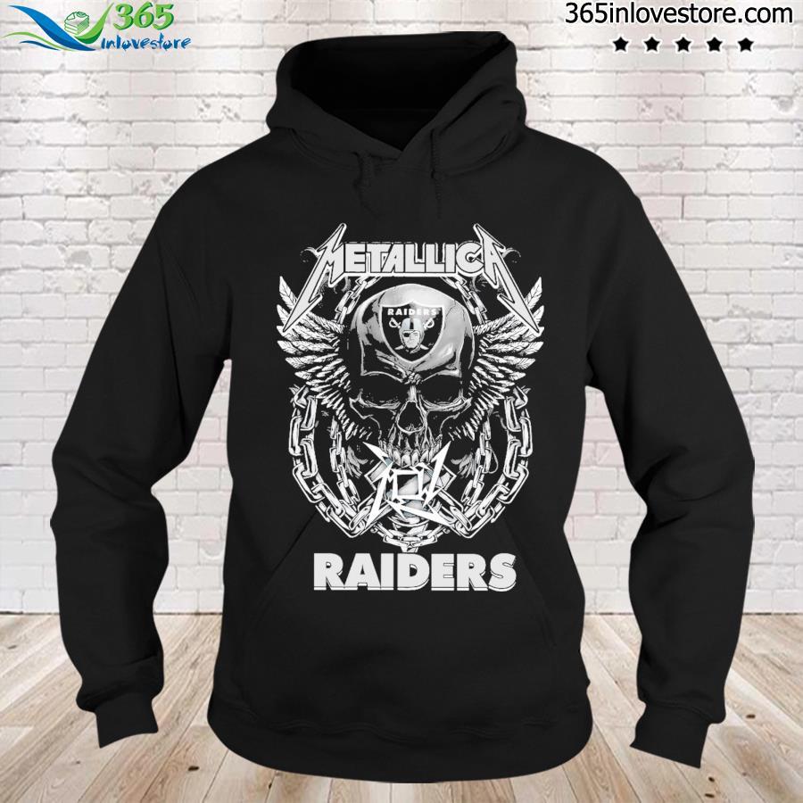 Skull Metallica Raiders 2021 s hoodie