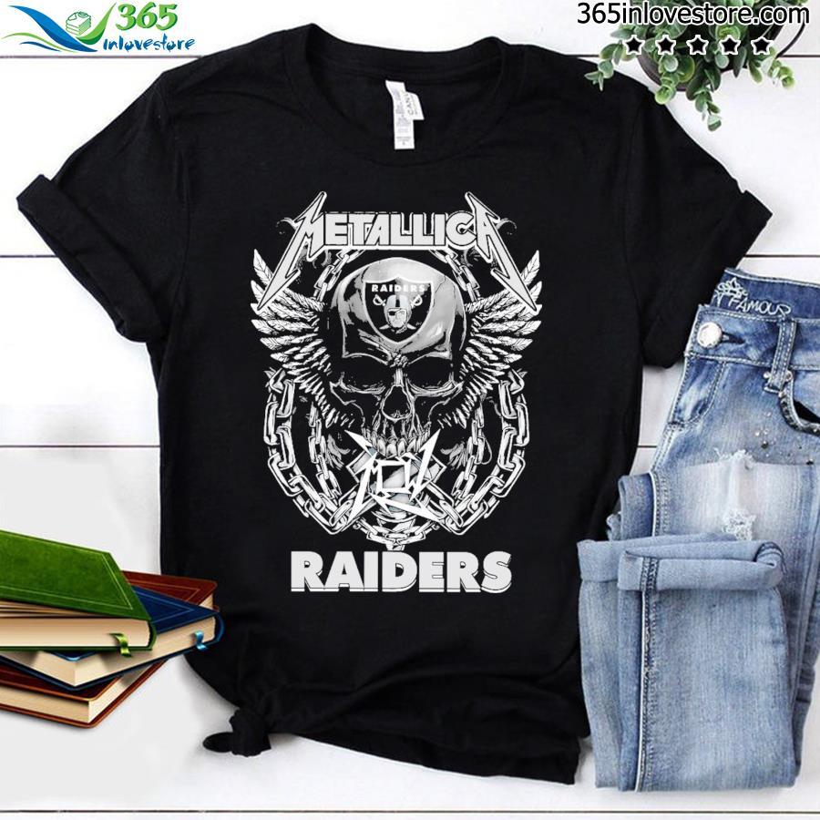 Skull Metallica Raiders 2021 shirt