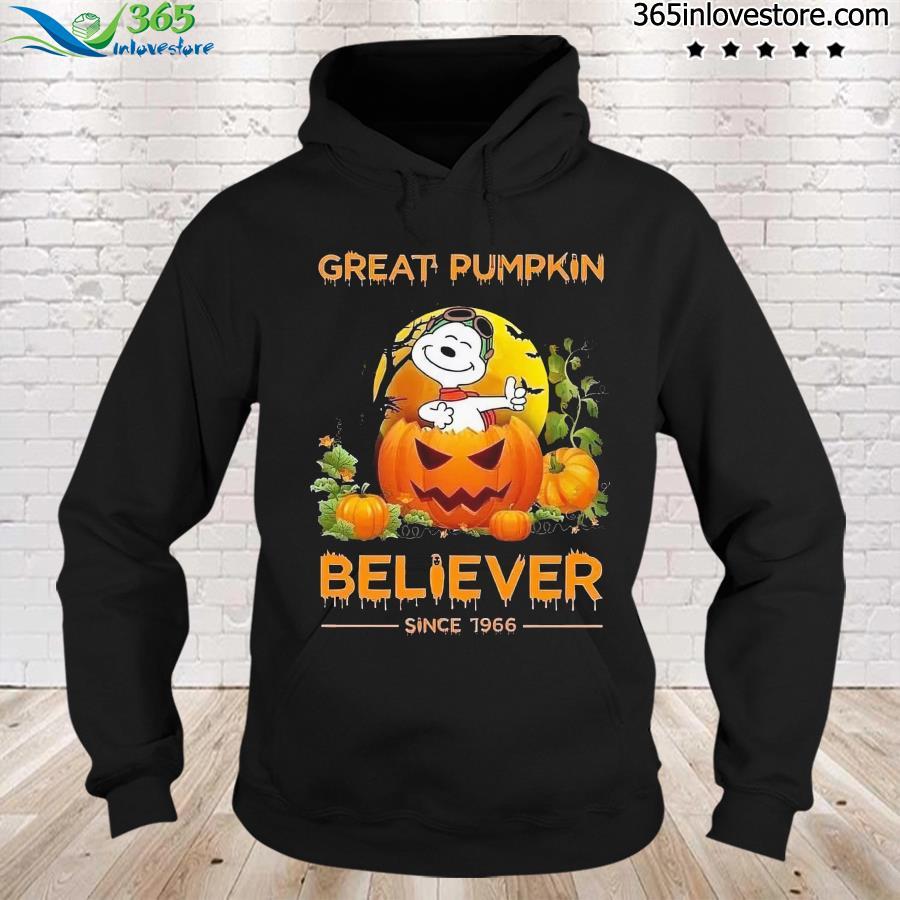 Snoopy Great Pumpkin Believer Halloween Shirt hoodie