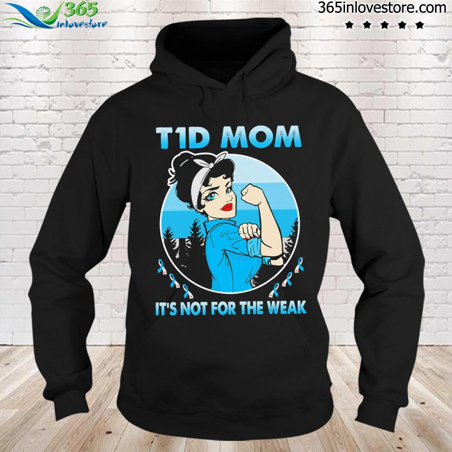 Strong girl tid mom It's not for the wear s hoodie